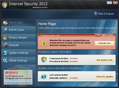Internet Security 2012